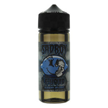 Blueberry Jam Cookie E Liquid 100ml Shortfill 0mg (120ml with 2 x 10ml Nicotine Shots Making Liquid 3mg) By Sadboy