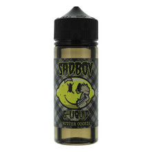 Butter Cookie E Liquid 100ml Shortfill 0mg (120ml with 2 x 10ml Nicotine Shots Making Liquid 3mg) By Sadboy