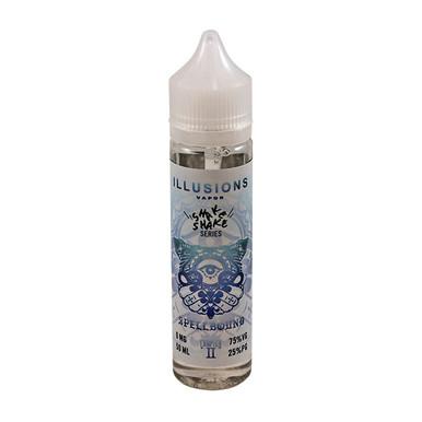 Spellbound E Liquid 50ml Short Fill 0mg (60ml with 1 x 10ml 18mg Nicotine Shot making 3mg liquid) by Illusions Vapor