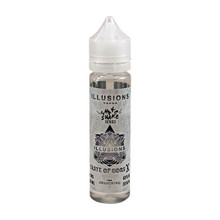 Taste Of Gods E Liquid 50ml Short Fill 0mg (60ml with 1 x 10ml 18mg Nicotine Shot making 3mg liquid) by Illusions Vapor