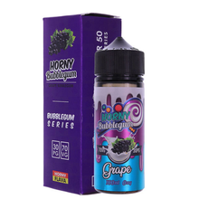 Grape Horny Bubblegum E Liquid 100ml Shortfill by Horny Flava (FREE NICOTINE SHOTS)
