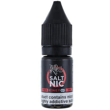 Ez Duz It On Ice Nic Salt E Liquid 10ml by Ruthless Vapor