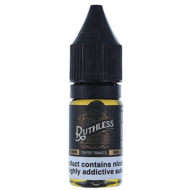 Coffee Tobacco Nic Salt E Liquid 10ml by Ruthless Vapor