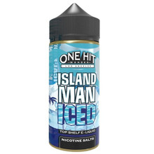 Island Man Ice E Liquid 100ml by One Hit Wonder
