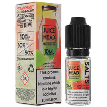 Strawberry Kiwi Nic Salt E Liquid 10ml by Juice Head