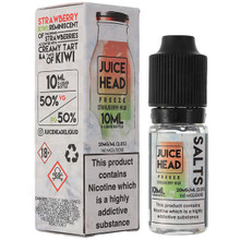 Strawberry Kiwi Freeze Nic Salt E Liquid 10ml by Juice Head