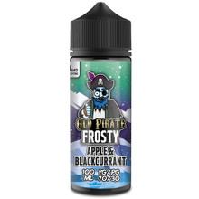 Apple & Blackcurrant E Liquid 100ml by Old Pirate Frosty