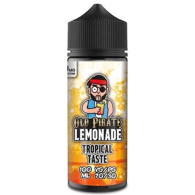 Tropical Taste E Liquid 100ml by Old Pirate Lemonade Series