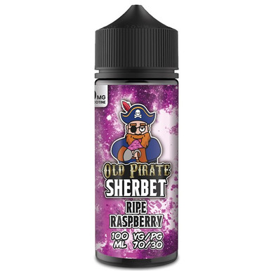 Ripe Raspberry E Liquid 100ml by Old Pirate Sherbet Series