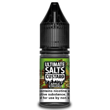 Apple Strudel Custard 10ml Nic Salt E Liquid By Ultimate Salts