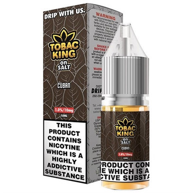 Cuban Nic Salt E Liquid 10ml By Tobac King (Candy King)