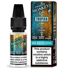 Tropica Nic Salt E Liquid 10ml by Twelve Monkeys