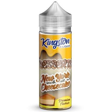 New York Cheesecake E Liquid 100ml by Kingston Desserts