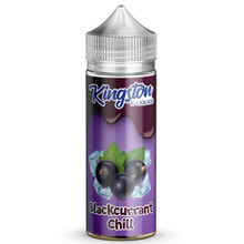 Blackcurrant Chill E Liquid 100ml by Kingston