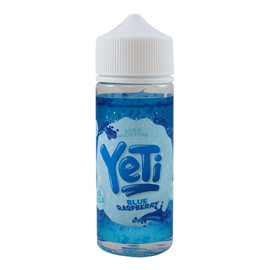 Blue Raspberry Ice Cold E Liquid 100ml by Yeti