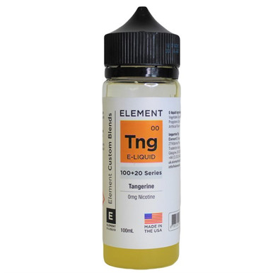 Tangerine E Liquid 100ml by Element