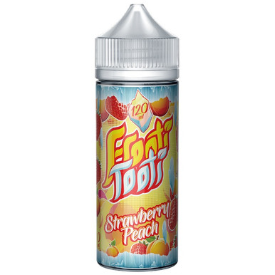 Strawberry Peach On Ice E Liquid 100ml Shortfill by Frooti Tooti