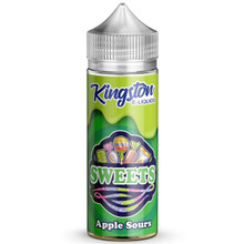 Apple Sours E Liquid 100ml by Kingston Sweets E Liquids