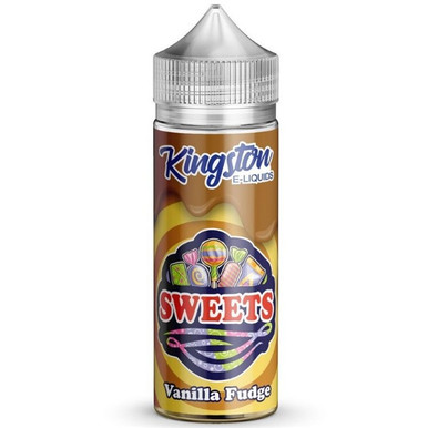 Vanilla Fudge E Liquid 100ml by Kingston Sweets E Liquids