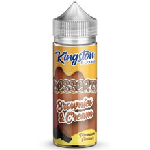 Brownies & Cream E Liquid 100ml by Kingston Desserts