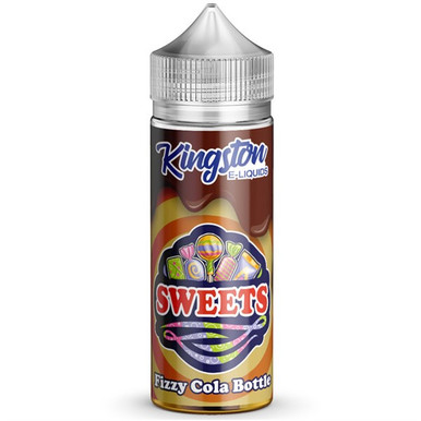 Fizzy Cola Bottles E Liquid 100ml by Kingston Sweets