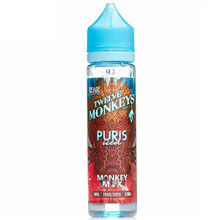 Puris Iced E Liquid 50ml Short Fill By Twelve Monkeys