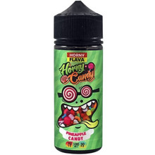 Pinepple Candy E Liquid 100ml by Horny Flava Candy Series (FREE NICOTINE SHOTS)