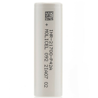Molicel INR 21700 P42A 4200 mah 45a Battery