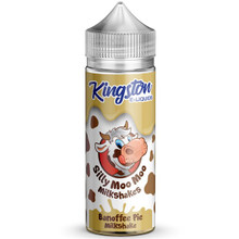 Banoffee Pie Milkshakes E Liquid 100ml by Kingston Silly Moo Moo