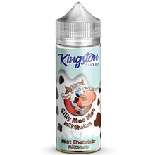 Mint Chocolate Milkshakes E Liquid 100ml by Kingston Silly Moo Moo