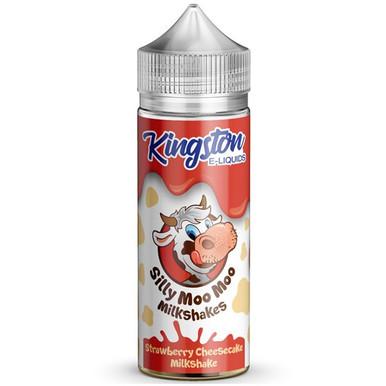 Strawberry Cheesecake Milkshakes E Liquid 100ml by Kingston Silly Moo Moo