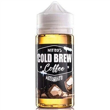 Macchiato Coffee E Liquid 100ml by Nitro's Cold Brew