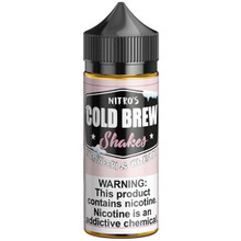 Strawberi & Cream Shakes E Liquid 100ml by Nitro's Cold Brew