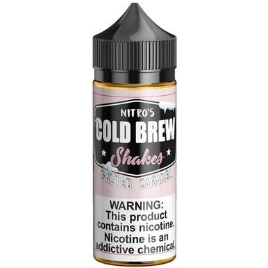 Salted Caramel Shakes E Liquid 100ml by Nitro's Cold Brew