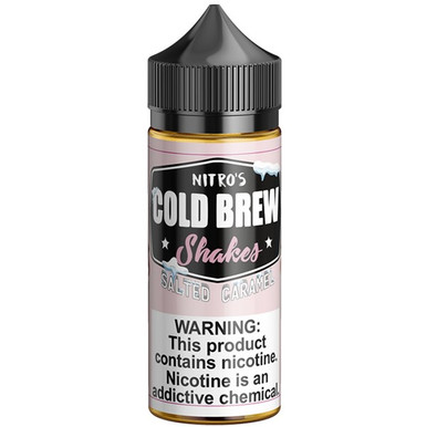 Salted Caramel Shakes E Liquid 100ml by Nitro's Cold Brew