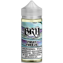 Fruit Freeze E Liquid 100ml by Bru Juice