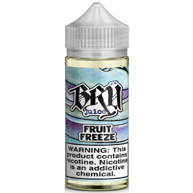 Fruit Freeze E Liquid 100ml by Bru Juice