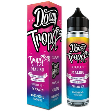 Malibu E Liquid 50ml by Doozy Tropix
