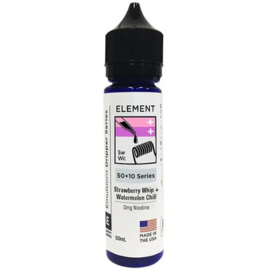 Strawberry Whip & Watermelon Chill E Liquid 50ml Shortfill by Element Mix Series