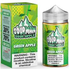 Green Apple E Liquid 200ml By Sourman