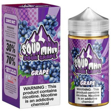 Grape E Liquid 200ml By Sourman