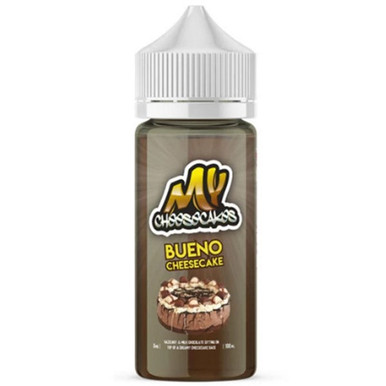Bueno Cheesecake E Liquid 100ml Shortfill by My E-Liquids Free Nic Shot Included)