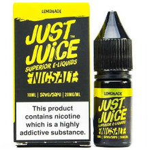 Lemonade Nic Salt E Liquid 10ml By Just Juice