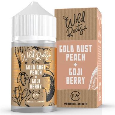 Gold Dust Peach E Liquid 50ml by Wild Roots