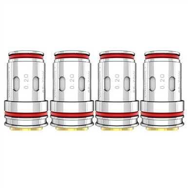 4 Pack Uwell Crown 5 Replacement Coil Heads