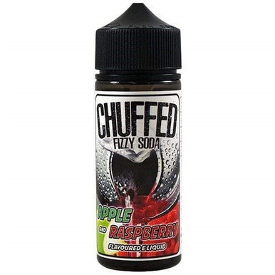Apple & Raspberry Fizzy Soda E Liquid 100ml by Chuffed