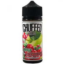 Apple & Cranberry E Liquid 100ml by Chuffed Fruits