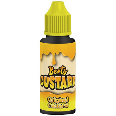 Original Custard E Liquid 100ml by Berts Custard