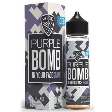 Iced Purple Bomb E Liquid 50ml by VGOD