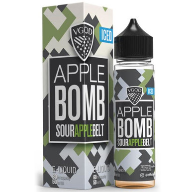 Iced Apple Bomb E Liquid 50ml by VGOD
